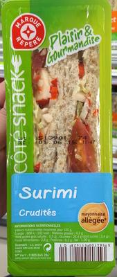 Côté snack - Plaisir & Gourmandise Surimi Crudités - Produit - fr