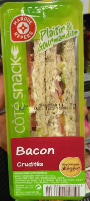 Plaisir & Gourmandise Bacon Crudités Mayonnaise allégée - Produit