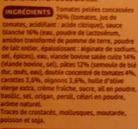 Lasagnes bolognaises - Ingrediënten