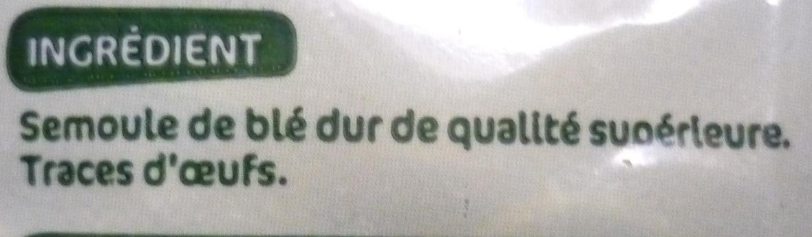 Mini penne - Ingrédients - fr