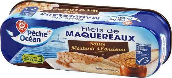 Filets maqueraux moutarde ancienne - Product - fr