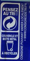 Filets de Maquereaux Sauce Moutarde à l'ancienne - Instruction de recyclage et/ou informations d'emballage - fr