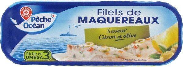 Filets de maquereaux citron olives - Product - fr