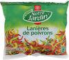 Lanières de poivrons rouges, verts et jaunes - sachet - Product
