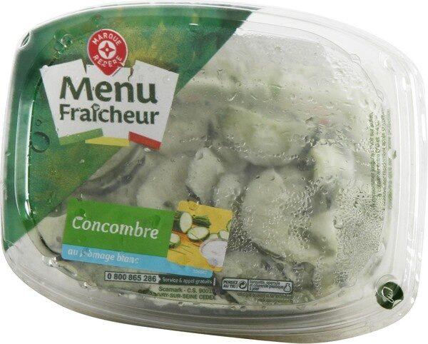 Salade de concombres au fromage blanc - Product