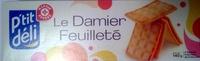 Damier feuilleté - Produit - fr