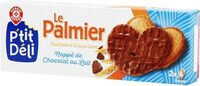 Palmiers nappe chocolat lait - نتاج - fr