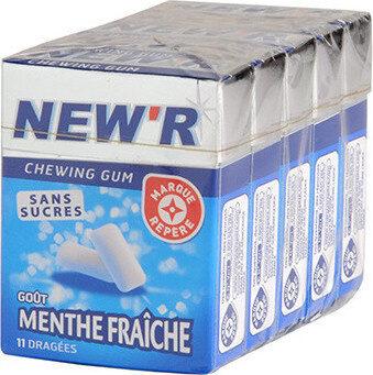 Chewing gum menthe fraîche - Produit - fr