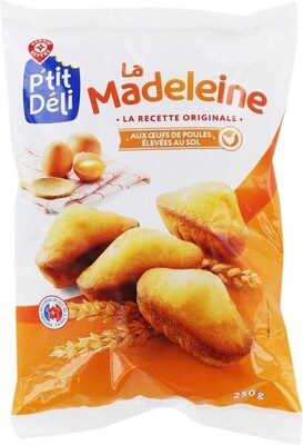 Madeleines coquilles - Product - fr