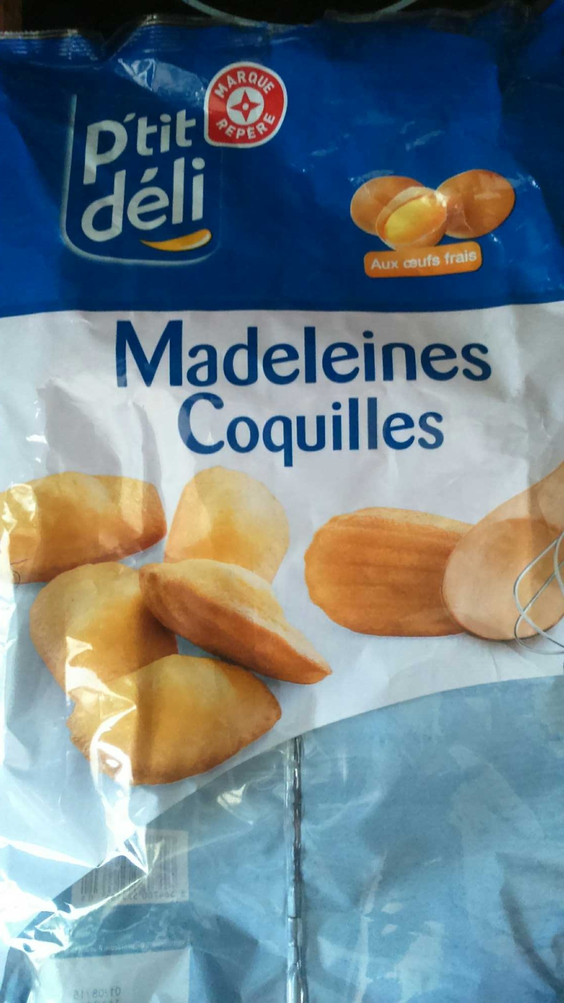 Madeleines coquilles - Product