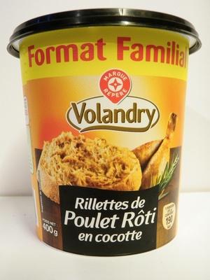Rillettes de Poulet Rôti en cocotte - Format Familial - Produit - fr