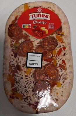 Pizza individuelle au chorizo - Produit - fr