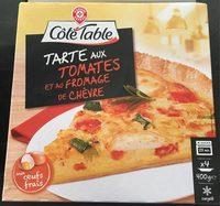 Tarte tomate et fromage de chèvre - Product