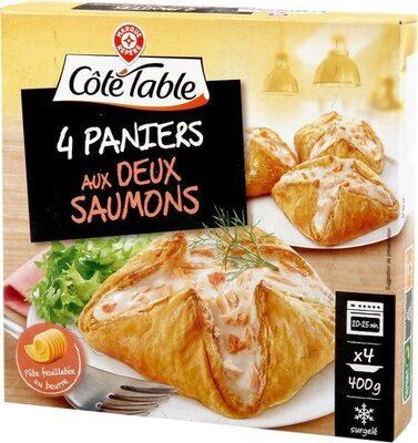 Feuilletés aux deux saumons - Produit