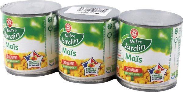 Maïs croquant sans sucres ajoutés - Product - fr