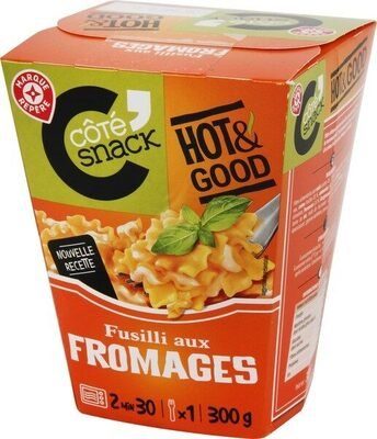 Fusilli aux fromages italiens - box - Produit