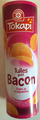 Tuiles gout bacon - tube - Product - fr