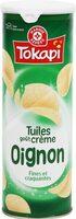 Tuiles crème oignon - Produit