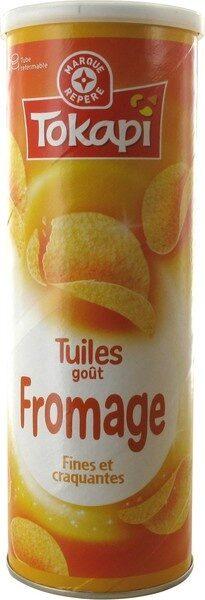 Tuiles goût fromage - Produit