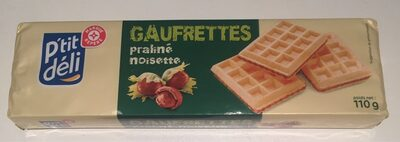 Gaufrettes pralines noisettes - نتاج - fr