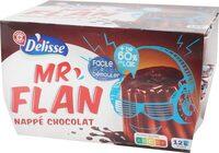 Flan choco nappe chocolat - Product - fr