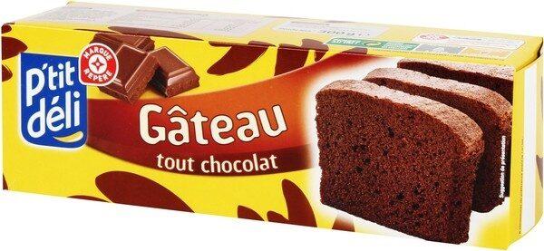 Gâteau tout chocolat - Product - fr