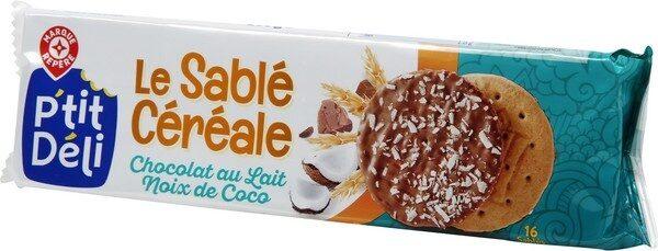 Sablés aux céréales noix de coco x 16 - Produit - fr
