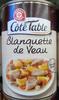 Blanquette de Veau - Produit