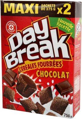Céréales fourrées tout chocolat - Product - fr