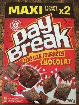 Céréales fourrées tout chocolat - Produit - fr