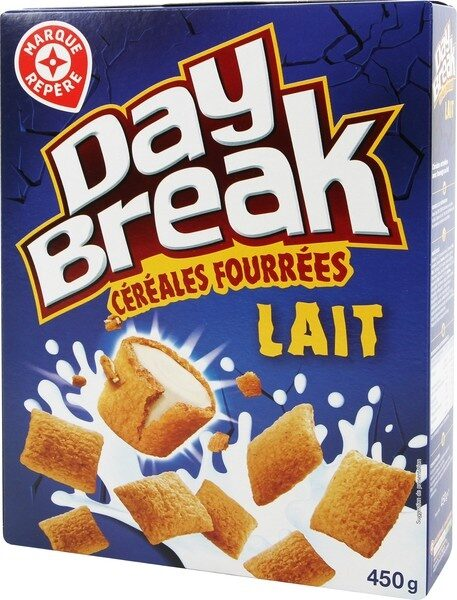 Céréales fourrées au lait - Produit - fr