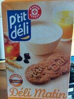 Biscuits petit déjeuner Déli-Matin miel et pépites de chocolat - Product - fr