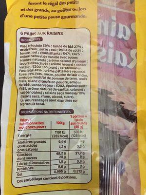 Pains aux raisins x 6 - 3
