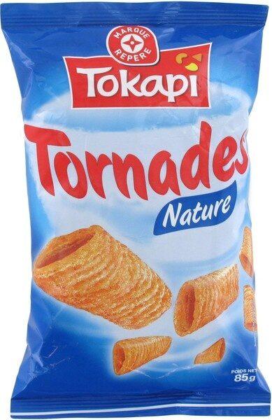 Snacks soufflés tornades nature - Product - fr