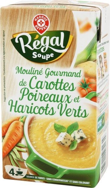 Potage gourmand carottes poireaux - Produit - fr