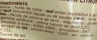 Prepa gateau moelleux citron - Ingredients