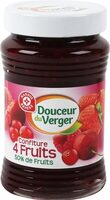 Confiture 4 fruits rouges - Product - fr