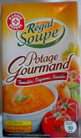 Potage gourmand tomates, oignons et basilic - Product - fr