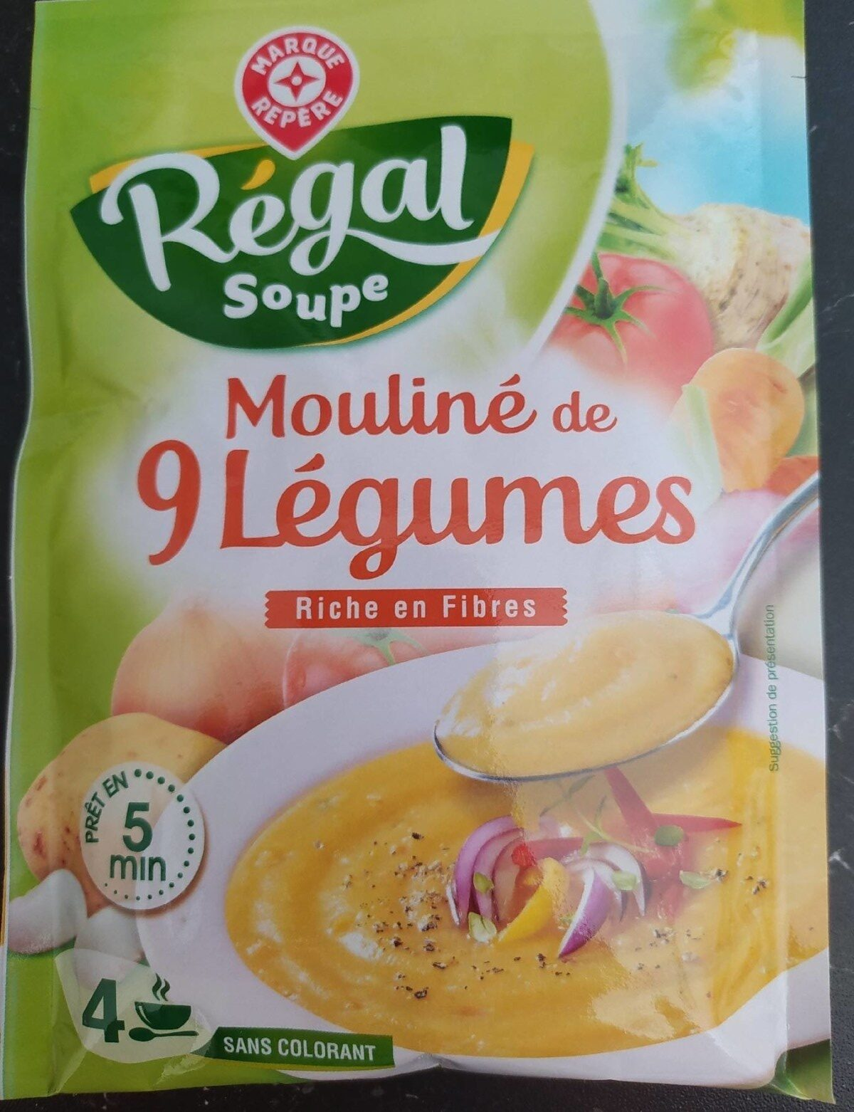 Mouliné de 9 légumes - Produit - fr