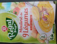 Mouliné de 9 légumes deshy - Produit - fr