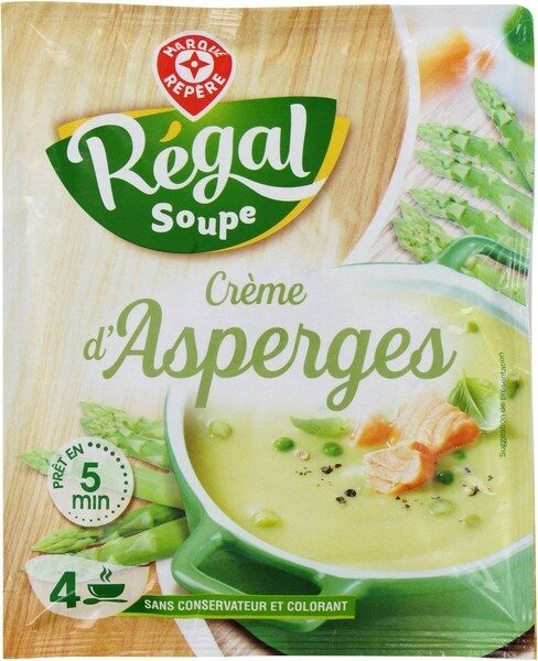 Soupe déshydratée crème asperge - Produit - fr