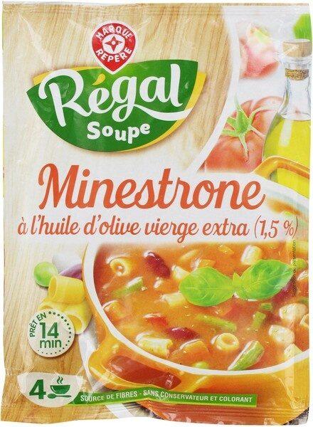 Soupe deshydratée minestrone - Produit - fr