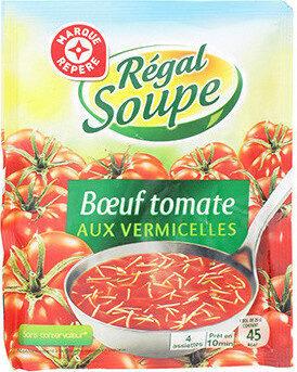 Soupe boeuf tomates vermicelles - Product - fr