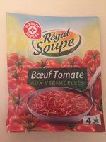 Soupe boeuf tomates vermicelles - Nutrition facts - fr
