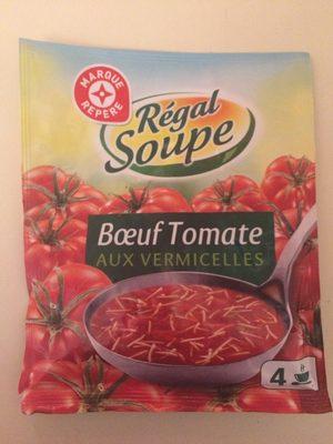 Soupe boeuf tomates vermicelles - Informations nutritionnelles - fr