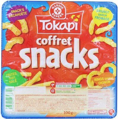 Coffret snacks extrudés - Produit - fr