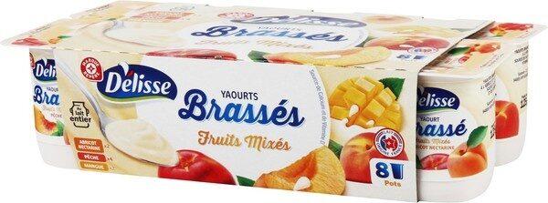 Yaourts brassés mixés aux fruits jaunes - Produit - fr