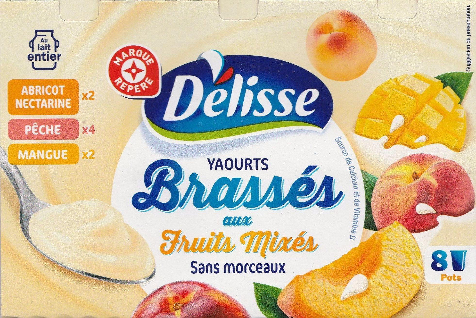 Yaourts brassés aux Fruits Mixés - Producto