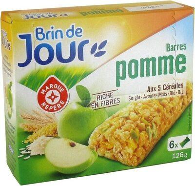 Barres céréales pomme verte - Produit