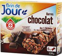 Barres céréales chocolat noir - Product